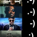 Movie Charaters And Their Emoticons