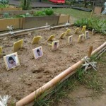 Creepy kindergarten garden