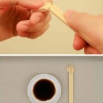 Correct way to separate a chopsticks