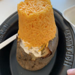Overloaded Cheese Potato