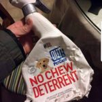 No Chew Deterrent Clearly Is Not Working